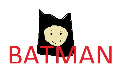 i drawn this with all by mysef Batman11
