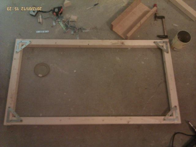 Construction, Fabrication, Volière Extérieur ! Imag0130