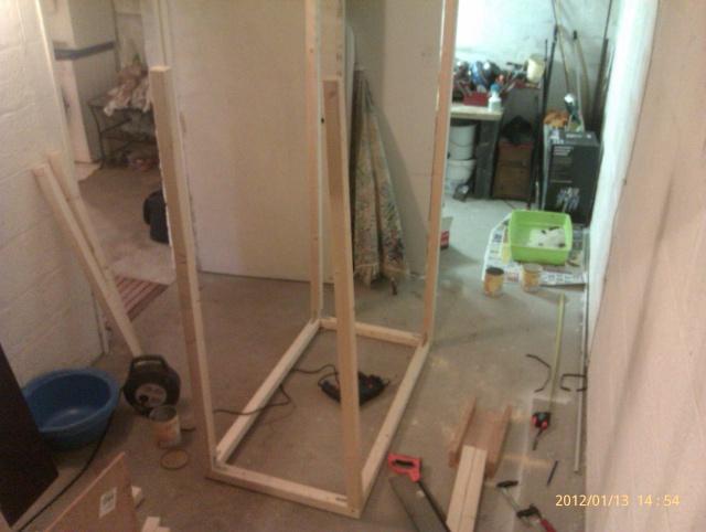 Construction, Fabrication, Volière Extérieur ! Imag0132