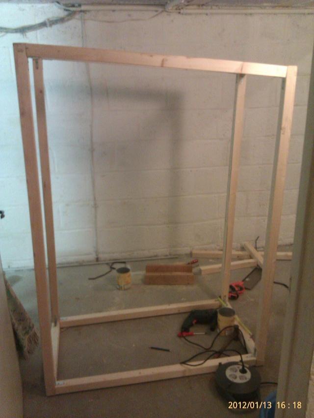 Construction, Fabrication, Volière Extérieur ! Imag0135