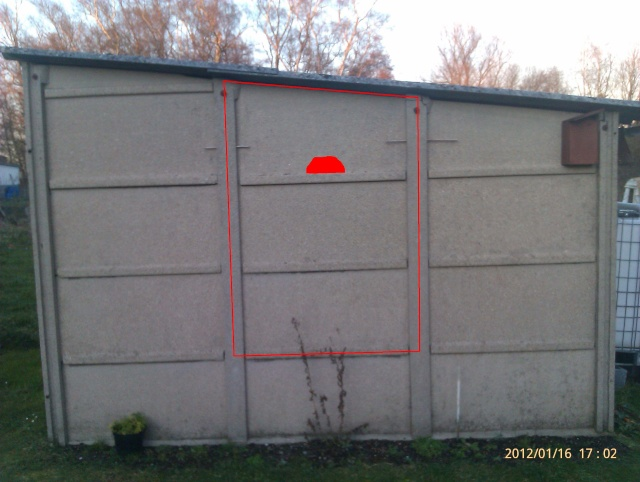 Construction, Fabrication, Volière Extérieur ! Imag0137