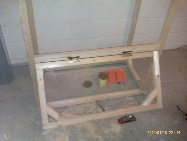 Construction, Fabrication, Volière Extérieur ! Imag0139