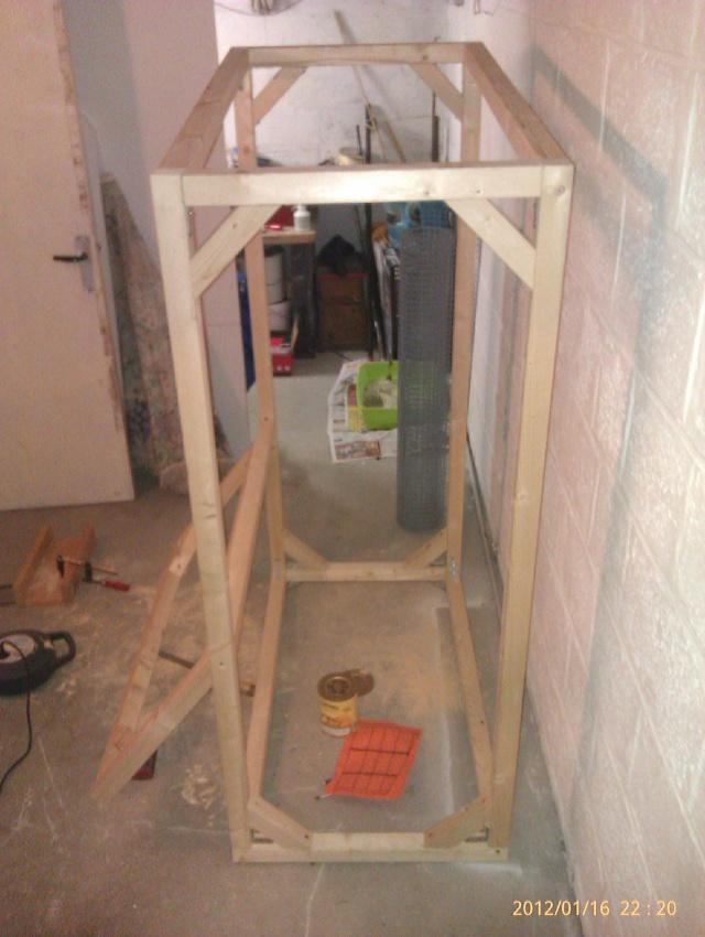 Construction, Fabrication, Volière Extérieur ! Imag0140