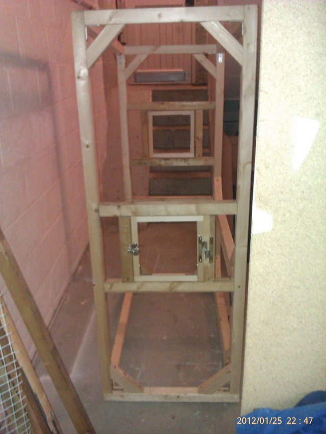 Construction, Fabrication, Volière Extérieur ! Imag0157
