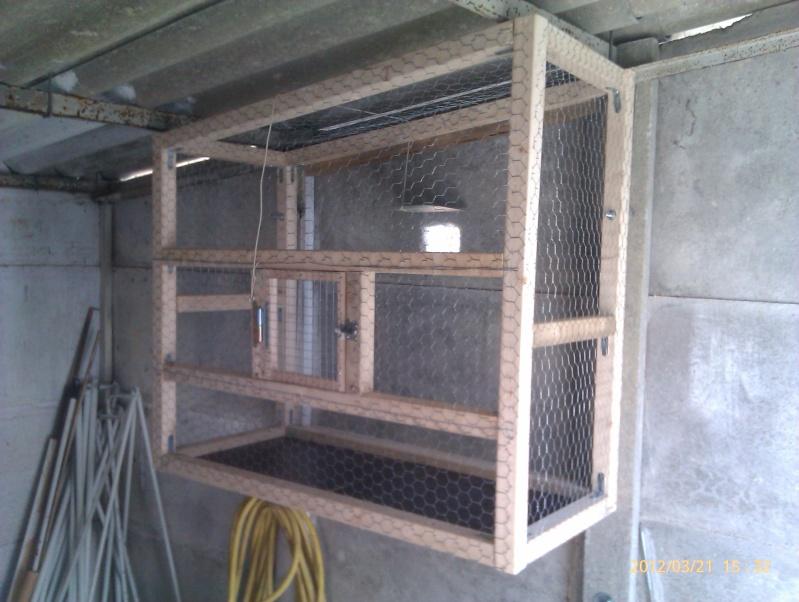 Construction, Fabrication, Volière Extérieur ! - Page 3 Imag0223