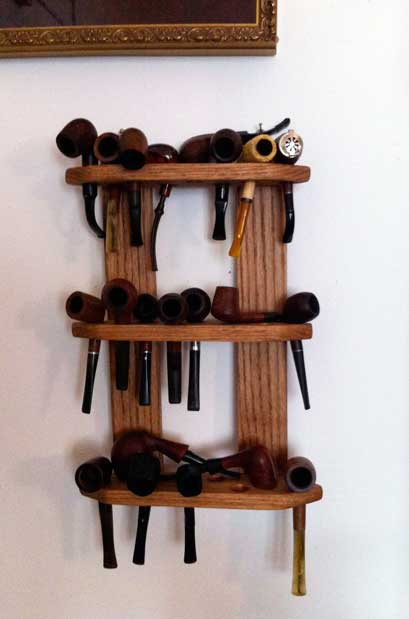 Gifts from a friend - Pipe and Pipe rack Pipera10