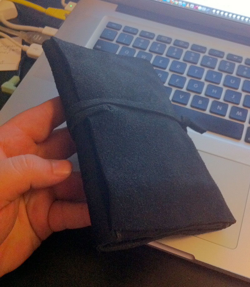 Just made a tobacco pouch Tri-fo10