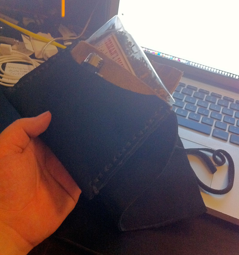 Just made a tobacco pouch Tri-fo12