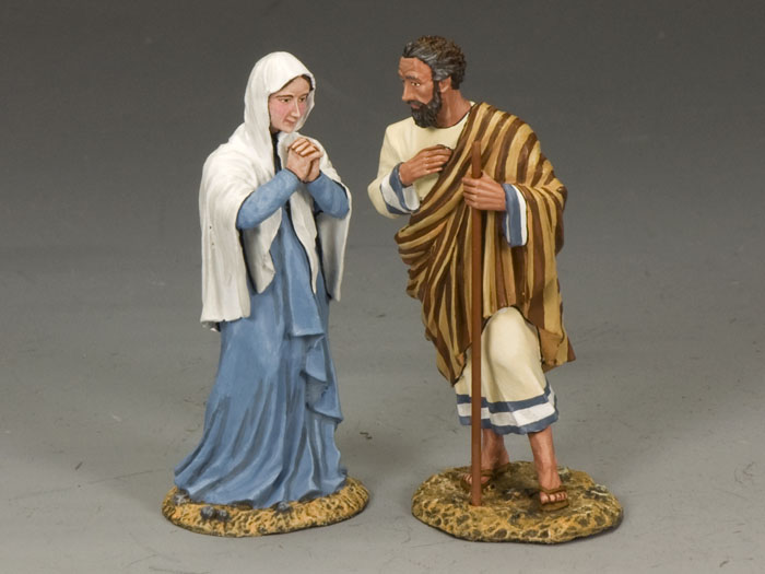 king and country,Jesus' Parents at 60 mm Loj00813