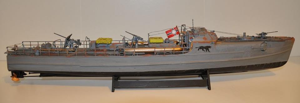 Schnellboot S-100, revell, 1/72 Ship111