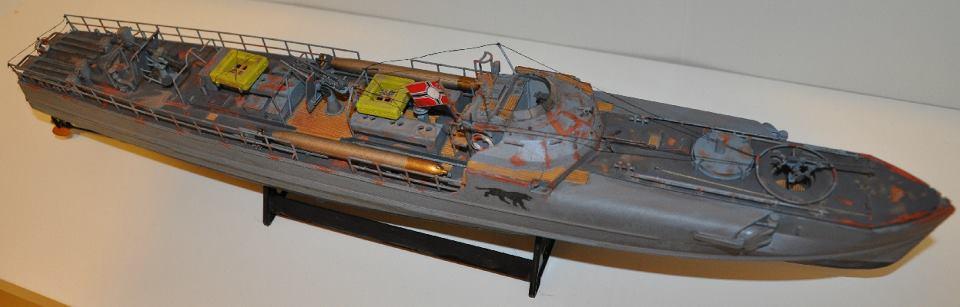 Schnellboot S-100, revell, 1/72 Ship210