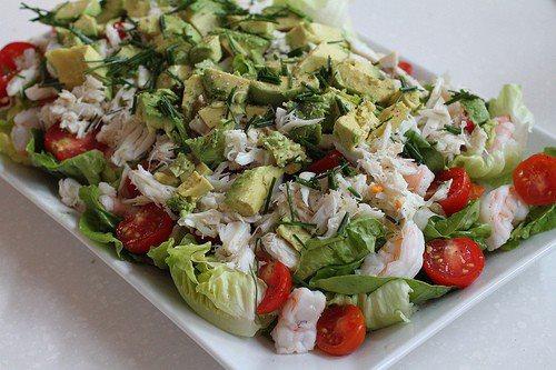 Salade de saumon fumé 16350210