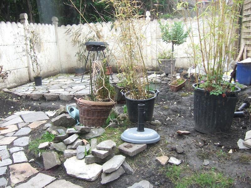 En avant pour l'aménagement de mon petit jardin !  Dscf0510