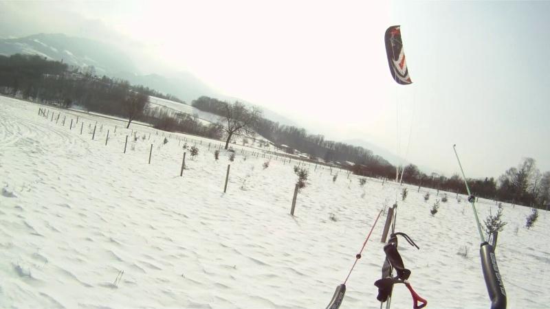 Snow kite sur le home spot Vlcsna14