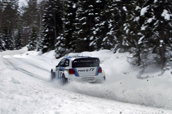WRC: El Polo WRC, de pruebas en Noruega 13182f11