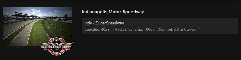 NORMATIVA Y REGLAMENTO NASCAR Indy10