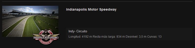 NORMATIVA Y REGLAMENTO NASCAR Indy11
