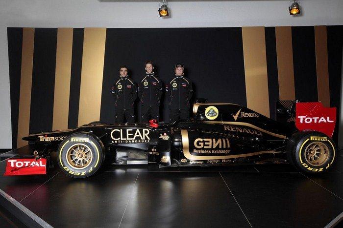 Continúan las presentaciones 2012 en la Fórmula 1: es el turno del Lotus E20 y del Sauber C31 Lotus_11