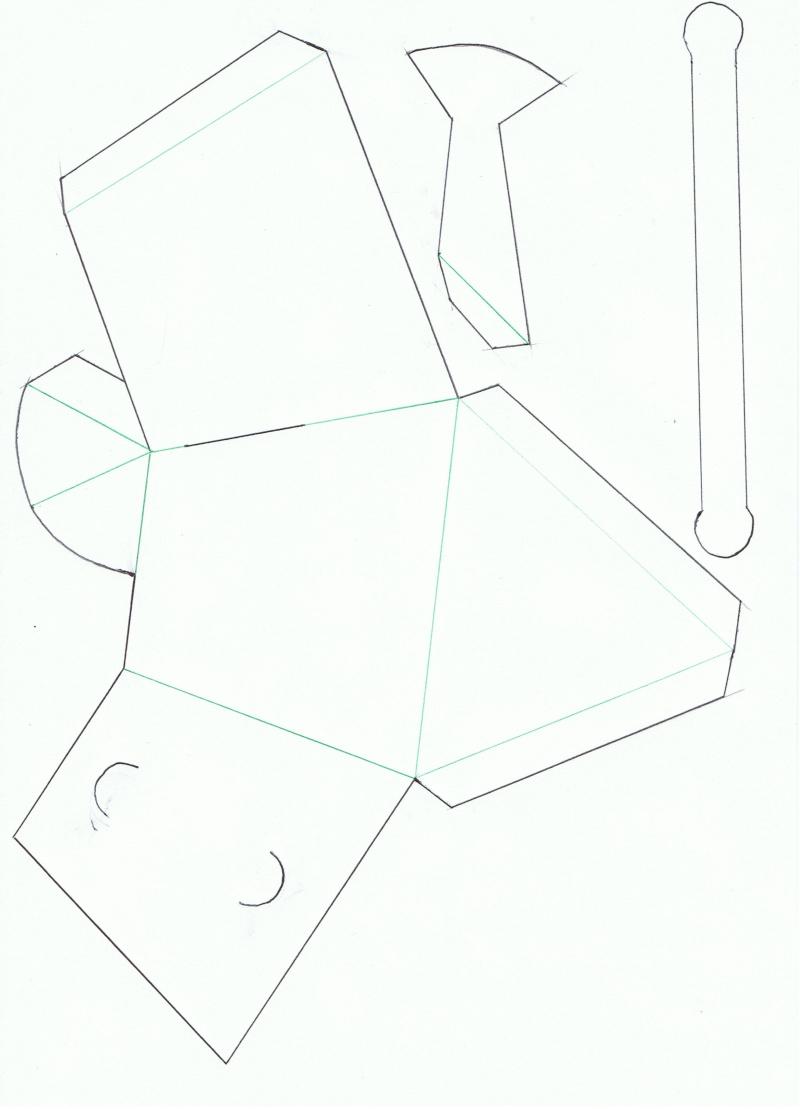 Arrosoir pour Pâques en papier Ccf28010