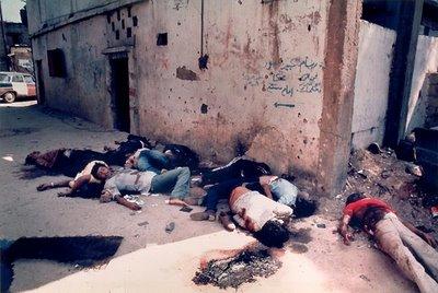 Massacres d'enfants palestiniens en image 1982_r10