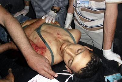 Massacres d'enfants palestiniens en image 20110610