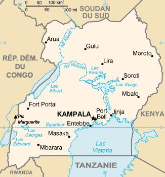 Actualités en république de l'Ouganda Ug-map10