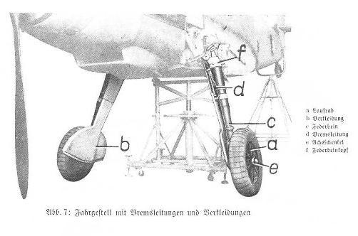 Me Bf109F details 110