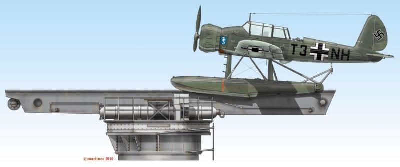 1:72 Scale German WW2 Heavy Battle Cruiser K.M.S. Scharnhorst 1943 - Page 5 Arado-10
