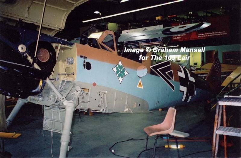 Me Bf109F details Bf109f13