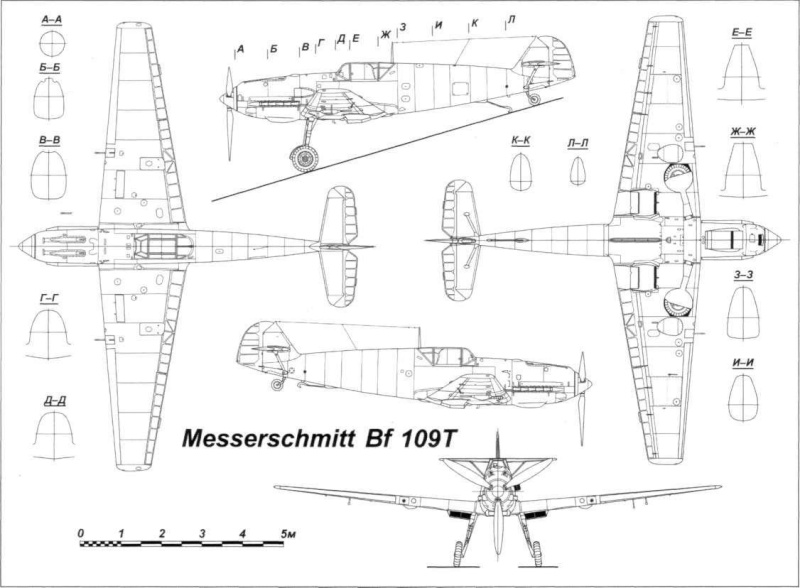 The Garf Zeppelin and her Aircraft Bf109t10