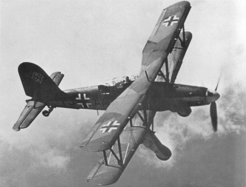 The Garf Zeppelin and her Aircraft Fi16710