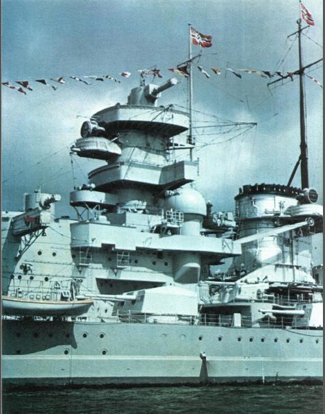 1:72 Scale German WW2 Heavy Battle Cruiser K.M.S. Scharnhorst 1943 - Page 5 Scharn10