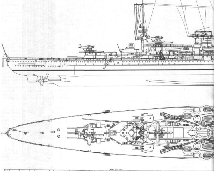 1:72 Scale German WW2 Heavy Battle Cruiser K.M.S. Scharnhorst 1943 - Page 5 Scharn11