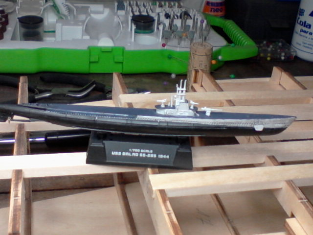 USS Balao 1/700 01910