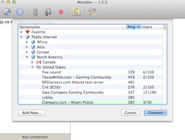 TLCG Mumble Server Screen12