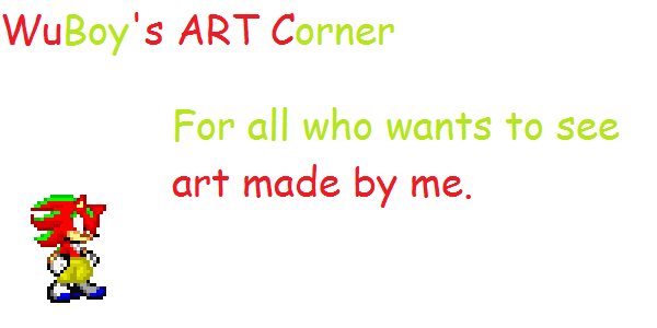 WuBoy's Art Corner