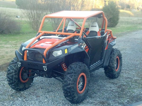 rzr cage  and  emp bumper for sale and a few extras Cage10