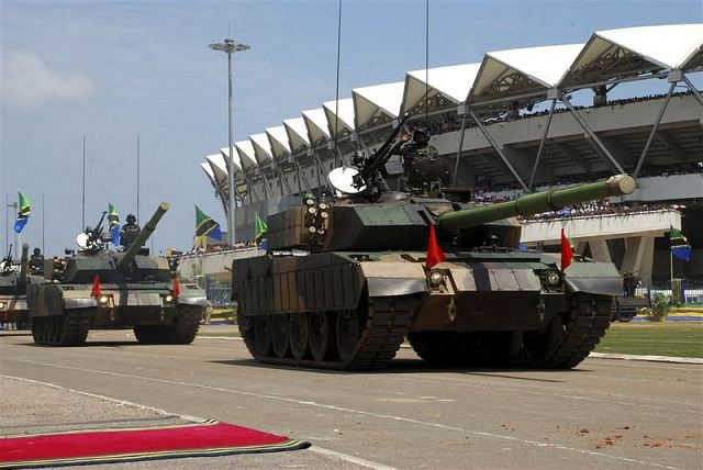 Armée tanzanienne / Tanzania Peoples' Defence Force ( TPDF ) Type_510