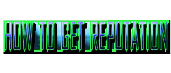 Obtain PMUC & Reputation Getrep10