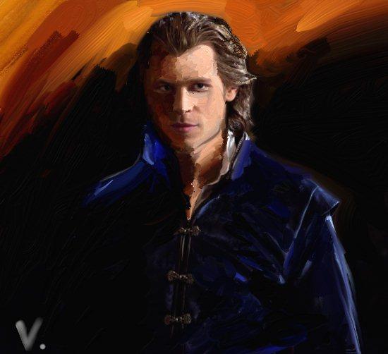 Mes tableaux et dessin, par Victoria :)  Klaus10