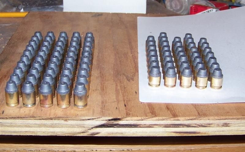 First batch of bullets Bullet12