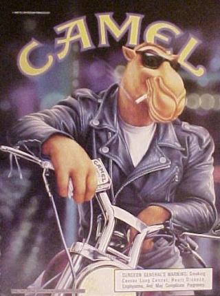 La Harley dans la pub Camela10