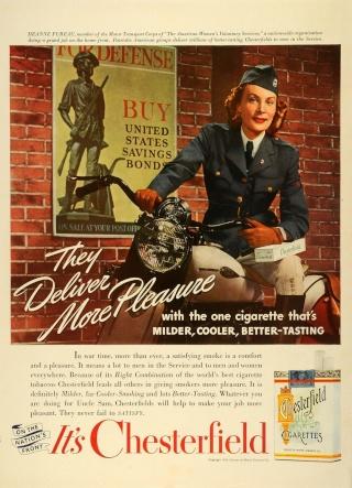 La Harley dans la pub Cheste11