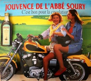 La Harley dans la pub Jouven11