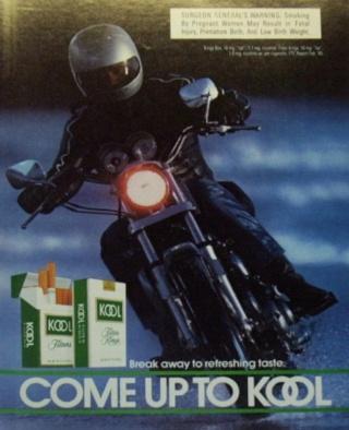 La Harley dans la pub Kool311