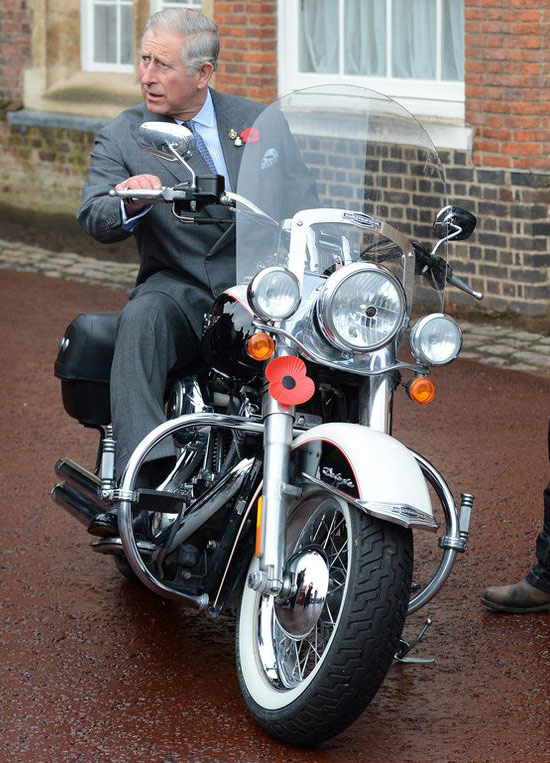 Ils ont posé avec une Harley, principalement les People Motorc11