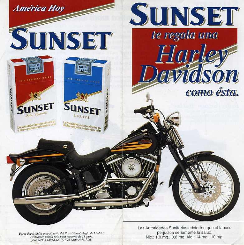 La Harley dans la pub - Page 2 Sunset10