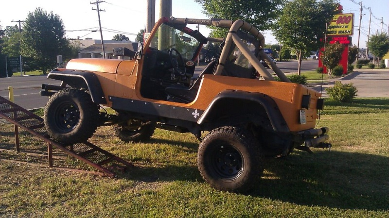 The Making of the Zombie Hunter 87 YJ Flex313