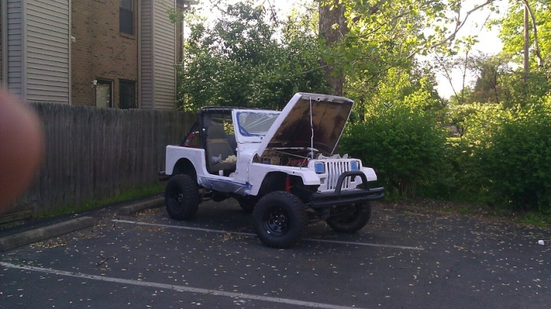 The Making of the Zombie Hunter 87 YJ Primer10