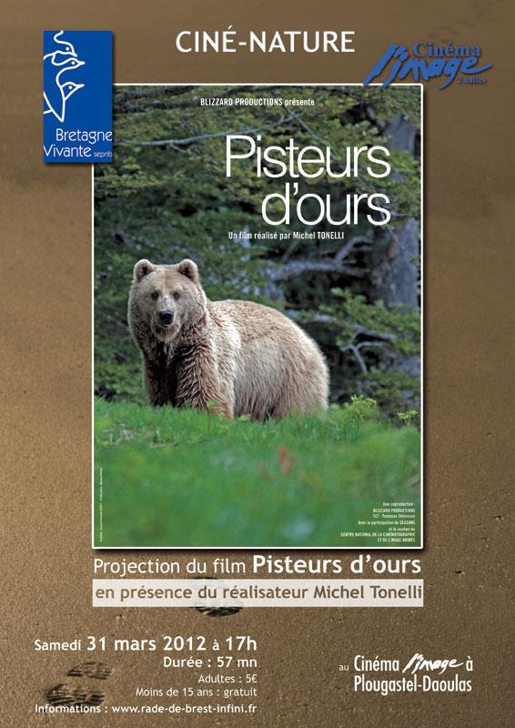 """Projection du film """"Pisteurs d'ours"""" en présence du réalisateur Jean-p10"""